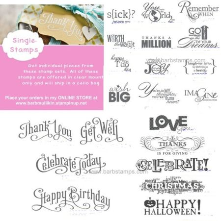 I Am Excited To Offer You The Chance Buy Single Pieces From These Select Stamp Sets Word Play Perfectly Penned And Seasonal Sayings