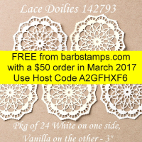 gift with purchase on www.barbstamps.com #barbstamps
