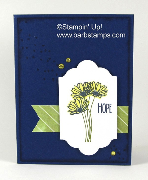 Check out my video for this awesome sympathy card, you can find it at www.barbstamps.com.  I use the Daisy Delight stamp set and do some two-step stamping.  Purchase your Daisy Delight Bundle in my store at www.shoppingwithbarb.com #barbstamps #daisydelight #stampinup