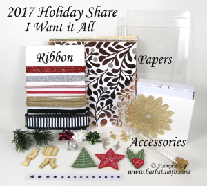 Holiday Catalog Product Shares, details and payment info on my blog www.barbstamps.com #papershares #barbstamps #holidaycatalogshares