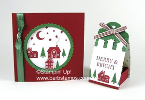 Tutorial for these projects can be found in my 12 weeks of Christmas newsletter.  You can sign up for it on my blog at www.barbstamps.com. Two fun projects using the Hearts Come Home Bundle, so cute! #stampinup #heartscomehome #barbstamps