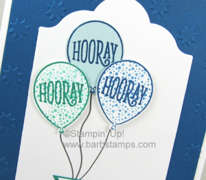 Happy Birthday Gorgeous for your boy birthday cards, of course!  Get the details and a supply list on my blog www.barbstamps.com #stampinup #barbstamps #happybirthdaygorgeous