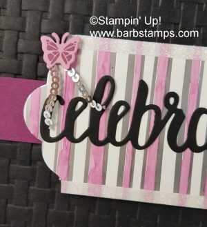 VIDEO on my blog for my most recent Facebook Live. This card was created on my show, you can view the video on my blog www.barbstamps.com #facebooklive #stampinup #brusho #sweetsoireeembellishmentkit