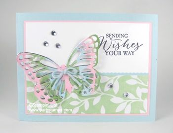 Butterfly Basics with Irresistably Yours DSP - Barbstamps!! Barb