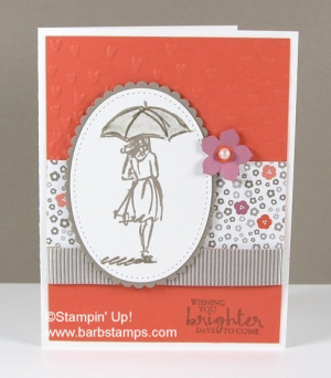 Video on my blog - www.barbstamps.com - showing you 28 cards using the Beautiful You stamp set
