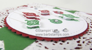 Get the Carols of Christmas Bundle starting August 1st.  Includes the Carols of Christmas stamp set and the Card Front Builder Thinlits dies. Get the deets www.barbstamps.com