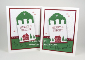 Instructions and a supply list for thsi project can be found on my blog at www.barbstamps.com