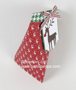 VIDEO tutorial on my blog for this super cool sour cream container that is reuseable, you don't have to destroy it to open it..  www.barbstamps.com #stampinup