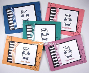 Lots of Party Pandas on my blog, such cute cards, I love them!  www.barbstamps.com More pictures on my blog.