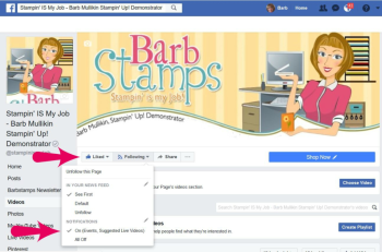 Follow me on Facebook for a Facebook Live Event every Wednesday at noon Eastern Time www.facebook.com/stampinismyjob