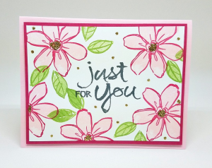 Had fun using the Garden in Bloom stamp set and Stampin' Glitter for all of my projects on my Facebook Live this week.  Check out my video www.facebook.com/stampinismyjob We used the retiring colors Wisteris Wonder, Elegant Eggplant, Pink Pirouette and Rose Red.  Check it out!! #stampinup #colorrevamp #barbstamps #gardeninbloom #stampinglitter
