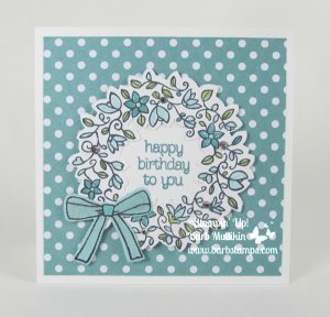 Circle of Spring stamp set and the Wonderful Wreath Framelits are retiring, get them in my store at www.shoppingwithbarb.com