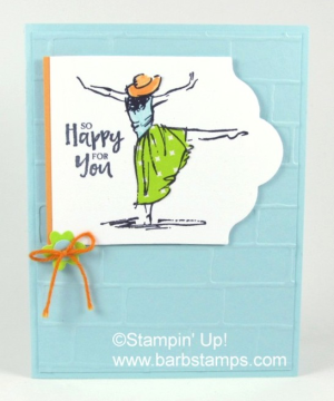 www.barbstamps.com Paper Piecing with the Beautiful You stamp set.  Also have a video showing you how to dye ribbons and trims to match your projects. #paperpiecing #barbstamps #dyeingribbon