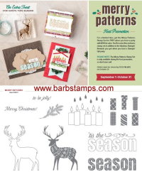 Earn this stamp set FREE with a $300 order or party, www.shoppingwithbarb.com