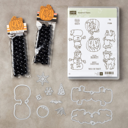 Super cute mini coffee cup treats on my blog. I use the Seasonal Chums Bundle and the Spooky Night Suite. www.barbstamps.com #seasonalchums #spookynightsuite #spookycat #stampinup