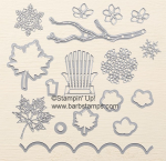 Check out my awesome video using the large leaf dies in this set. www.barbstamps.com #stampinup #seasonallayers #barbstamps