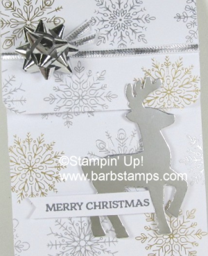Video on my blog for this sliding gift card holder.  Fill it with a gift card, cash, treats or teabags. www.barbstamps.com