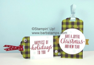 Paper Pumpkin alternate tags www.barbstamps.com #paperpumpkin #stampinup #diy #barbstamps