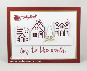 I used the Hearts Come Home Bundle to create this card using the Eclipse Technique.  You can find more pictures on my blog post www.barbstamps.com. #stampinup #barbstamps #heartscomehome