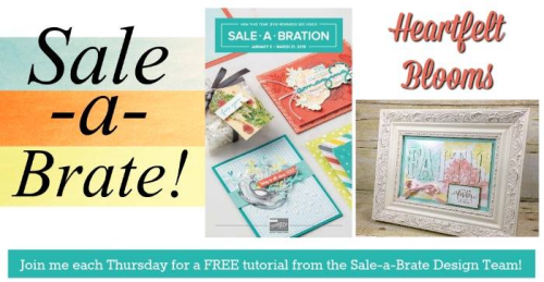 Week 1 of the Sale-a-bration Design Teams projects, check my blog on Thursdays through February 15th for all the amazing projects. www.barbstamps.com