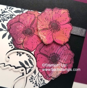 Paper Piecing Technique on my blog, more pictures www.barbstamps.com Card uses the Amazing You stamp set, Celebrate You Thinlits and the Shimmer Ribbon Pack from our Sale-a-bration Brochure. #stampinup #sale-a-bration #saleabration
