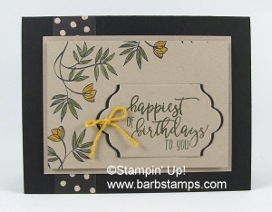 Lovely Wishes stamp set with the watercolor pencils more pics on my blog www.barbstamps.com #stampinup #lovelywishes