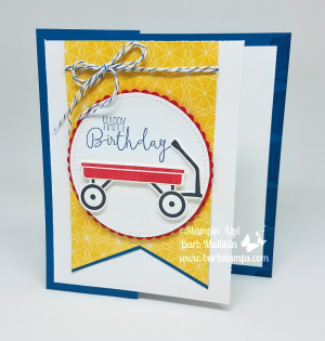 VIDEO on my blog for this fun twist on a Z-Fold Card.  I used the retiring Grown With Love Bundle for my card, check it out at www.barbstamps.com #stampinup #barbstamps #grownwithlove #zfoldcard