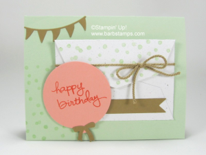 Balloon Framelits on this card www.barbstamps.com