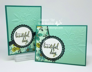VIDEO on  my blog for this card that uses the leftover strip fromo the Drapery Cards. www.barbstamps.com #stampinup #draperycards #barbstamps #sharewhatyoulove