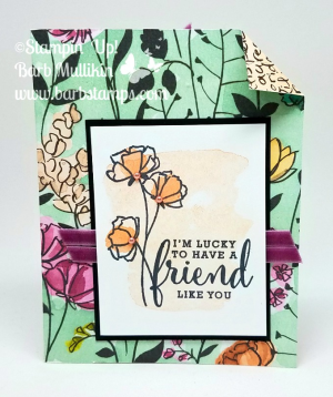 Create this amazingly simple double pocket card with me using the Share What You Love Designer Series Paper and Gotta Have it All Bundle. Check out the video on my blog. www.barbstamps.com #stampinup #sharewhatyoulove #gottahaveitall #lovewhatyoudo #makeadifference