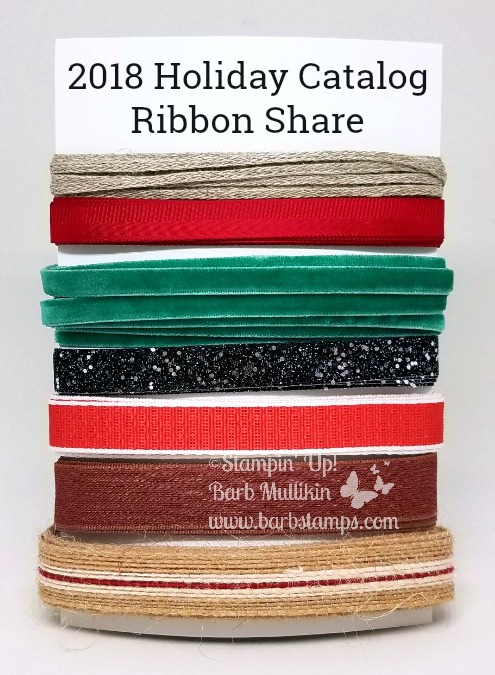 Holiday ribbon blog