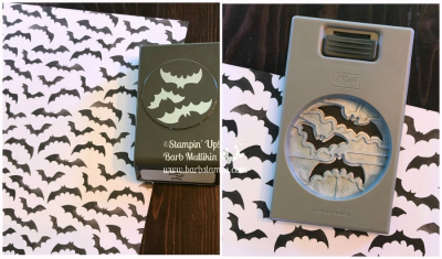 spooky bats punch can crop out the bats in the Toil & Trouble DSP in the Holiday CAatalog. www.shoppingwithbarb.com