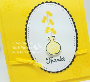 VIDEO on my blog for these In Color Varied Vases Cards, I use all the new In Colors. www.barbstamps.com #stampinup #barbstamps #variedvases