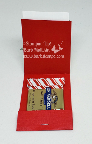 Winter woods matchbook buffalo check