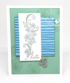 VIDEO on my blog for this fun olor challenge card  I use the Beauty Abounds Bundle. www.barbstamps.com