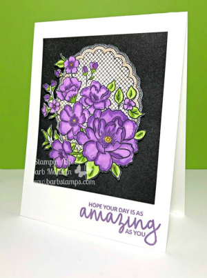Earn Lovely Lattice FREE w/$50 placed in my store, www.barbstamps.com Join my team for only $99 and receive $175 in your Starter Kit, details on my blog.  #stampinup #lovelylattice #joinmyteam #barbstamps