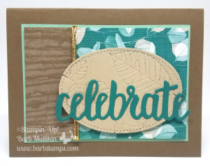 Video on my blog for 39 cards using the Rooted in Nature Bundle www.barbstamps.com #sstampinup #rootedinnature #fallcards #leafcards
