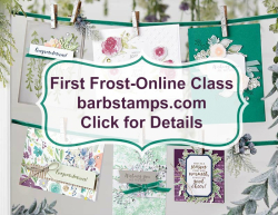 Click for details about my First Frost Online Class