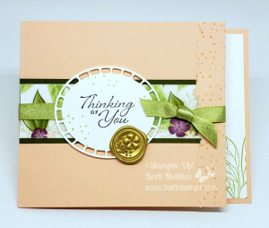VIDEO on my blog for this Fun Fold Card www.barbstamps.com also check out my Online Class for this bundle