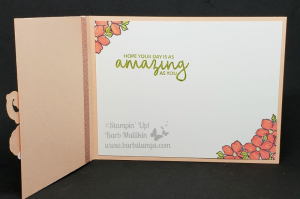 Video on my blog for this gift card holder and card www.barbstamps.com #stampinup #teatogether #saleabration