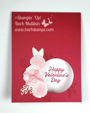 VIDEO on my blog for this card, join Stampin' Up! during Sale-a-bration for only $99 and receive $175 in product.  Details on my blog www.barbstamps.com
