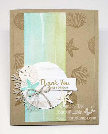 Paper Pumpkin alternate project June 2019 A Little Smile Stampin Up! www.barbstamps.com #stampiup #paperpumpkin