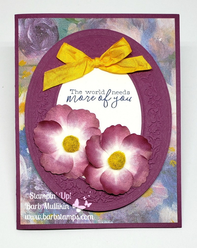Heirloom frame washi flowers