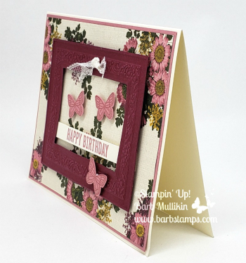 Merlot rectangle frame