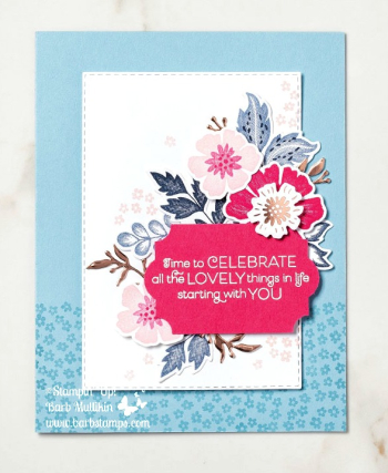Everything is Rosy Medley, order is at www.shoppingwithbarb.com Item 150059 see more ideas at www.barbstamps.com