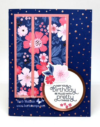 Everything is Rosy more projects on my blog www.barbstgamps.com #stampinup #everythingisrosy