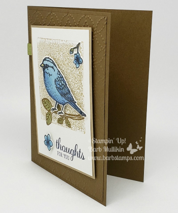 VIDEO for this card on my blog Join  my team for only $99 www.barbstamps.com