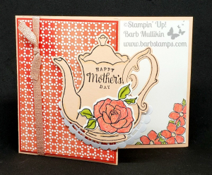 Tea together pot petal pink