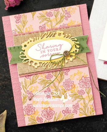 Pressed Petals Suite www.barbstamps.com