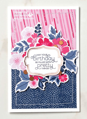 Everything is Rosy Medley, order it at www.shoppingwithbarb.com item 150059 see more ideas at www.barbstamps.com
